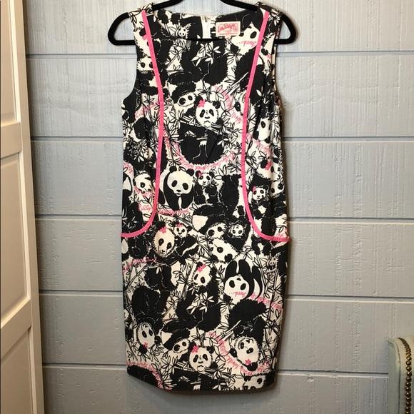 Lilly Pulitzer Dresses & Skirts - Lilly pandonium originals shift panda dress